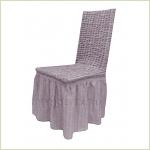 Чехлы на стулья - Чехол на стул, цвет лиловый