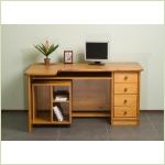 Мебель для детской - Стол компьютерный/письменный С11044 (массив сосны)