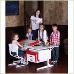 Мебель для детской - Парты-трансформеры ДЭМИ из серии СУТ25 White