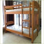 Мебель для детской - Кровать двухъярусная С106 (массив сосны)