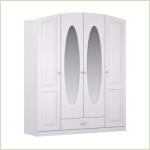 - Кристина СБ-1863 Шкаф для одежды 4-х дверный