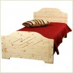 Мебель для детской - Кровать AU1 (массив сосны)