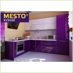 """Мебель для кухни - Кухня """"Джемма Фиалка"""", 3D-акрил"""