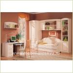 """Модульная программа мебели для детской, подростковой комнат или небольшой спальни """"Сюита"""""""