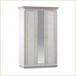 - Версаль СБ-2318 Шкаф 3-х дверный с зеркалом