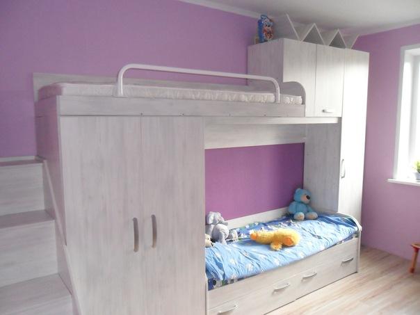 Детские комнаты на заказ!мебельная компания микслайн! красно.